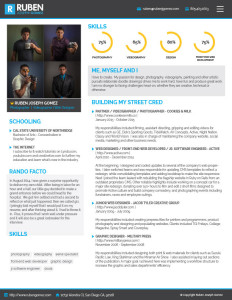 Resume of Ruben-Gomez